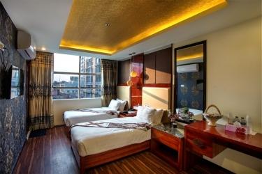 Hotel Noorjahan Grand: Vista della stanza degli ospiti SYLHET