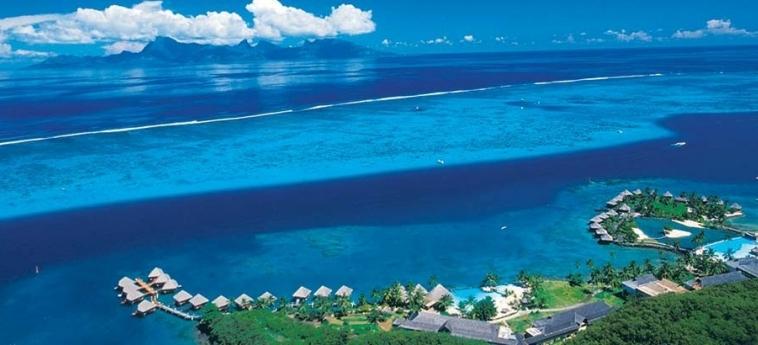 Hotel Intercontinental Tahiti Resort & Spa: Vista TAHITI