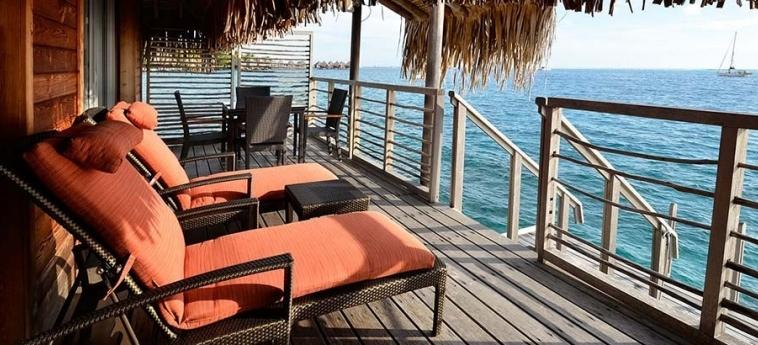 Hotel Intercontinental Tahiti Resort & Spa: Bungalow TAHITI
