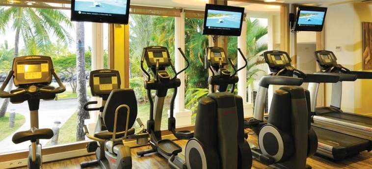 Hotel Intercontinental Tahiti Resort & Spa: Palestra TAHITI