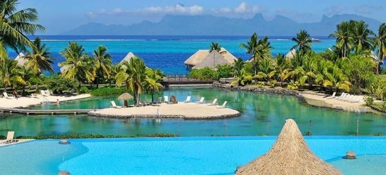 Hotel Intercontinental Tahiti Resort & Spa: Piscine Découverte TAHITI