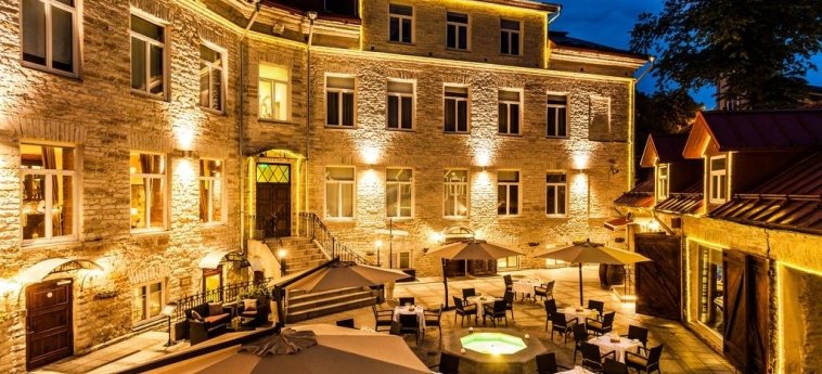 The Von Stackelberg Hotel Tallinn : Ristorante TALLINN