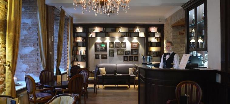 The Von Stackelberg Hotel Tallinn : Lounge Bar TALLINN