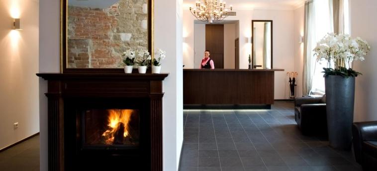 The Von Stackelberg Hotel Tallinn : Reception TALLINN
