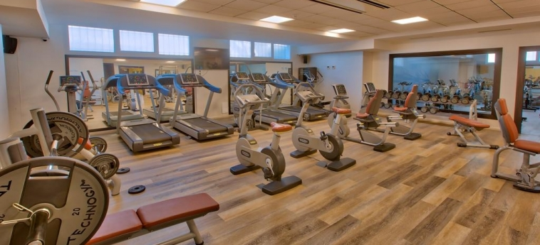 Hotel Royal Tulip City Center Tanger: Salle de Gym TANGER