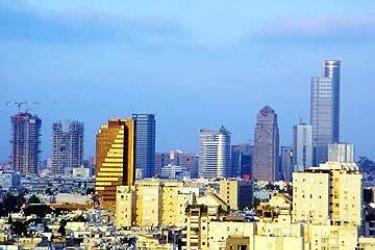 Hotel Carlton Tel Aviv On The Beach: View of skyline TEL AVIV
