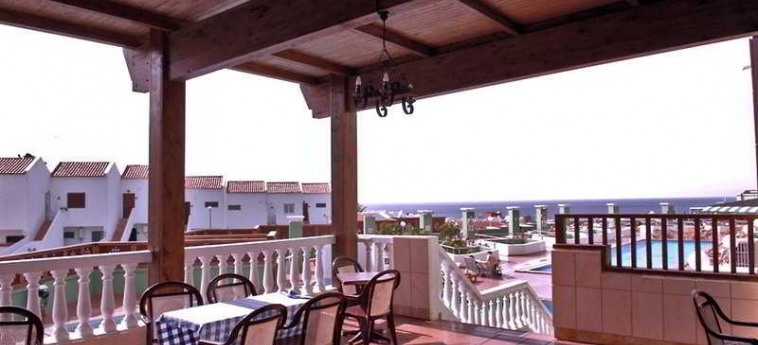 Hotel Villa De Adeje Beach: Terraza TENERIFE - CANARIAS