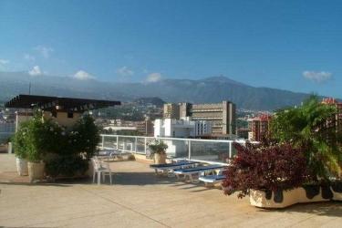 Hotel Trovador: Terrasse TENERIFE - ILES CANARIES