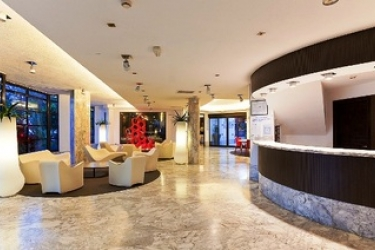 Hotel Apartamentos Aguamar: Lobby TENERIFE - ILES CANARIES