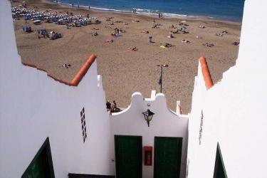 Hotel Apartamentos Las Fuentes: Spiaggia TENERIFE - ISOLE CANARIE