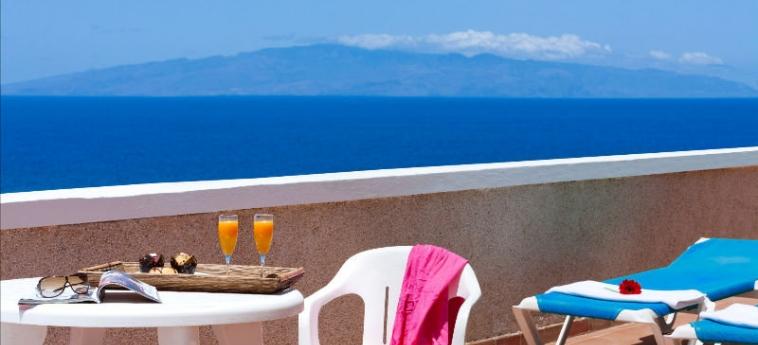 Hotel Tropical Park: Terrasse TENERIFE - KANARISCHE INSELN