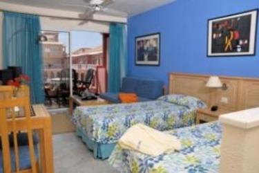 Hotel Apartamentos Mar-Ola Park : Schlafzimmer TENERIFE - KANARISCHE INSELN