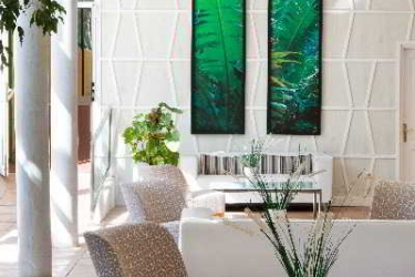 Hotel Checkin Atlantida Bungalows: Terrasse TENERIFE - KANARISCHE INSELN