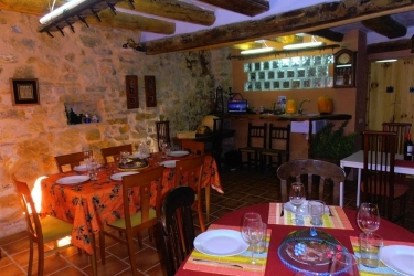 Hotel Mirador Del Maestrazgo: Ristorante Esterno TERUEL