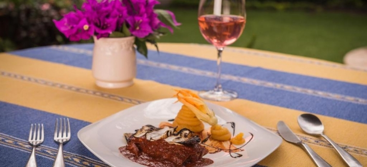 Hotel Hacienda Labor De Rivera: Restaurant TEUCHITLAN - JALISCO