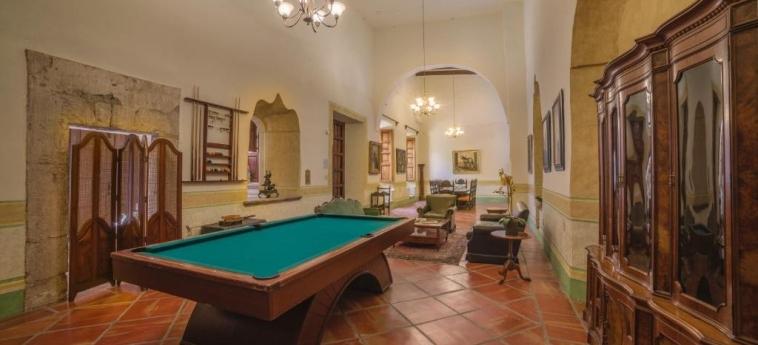 Hotel Hacienda Labor De Rivera: Salotto TEUCHITLAN - JALISCO
