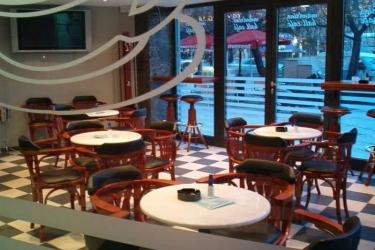 Hotel Mandrino: Bar THESSALONIKI