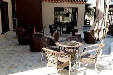 Hotel Gyelsa Boutique: Terraza / Patio  THIMPHU