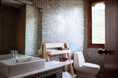 Hotel Osel: Bagno THIMPHU