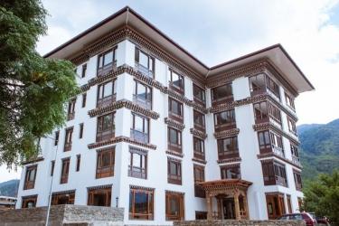 Hotel Osel: Facciata dell'hotel THIMPHU