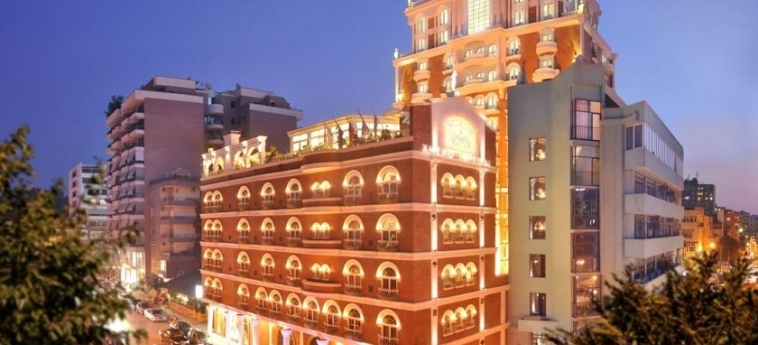 Hotel Xheko Imperial: Exterior TIRANA