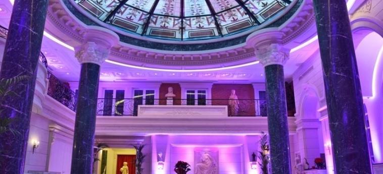 Hotel Xheko Imperial: Particolare dell'Hotel TIRANA