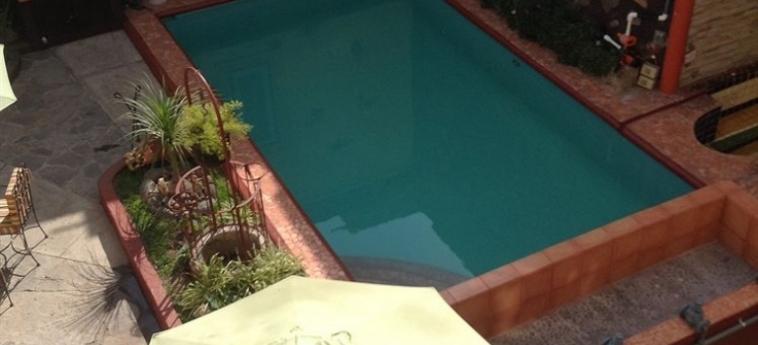 Spa Casa Armonía Hotel: Piscina Exterior TLAQUEPAQUE - JALISCO