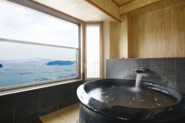 Hotel Sun-Urashima Yuukinosato: Baignoire TOBA - MIE PREFECTURE