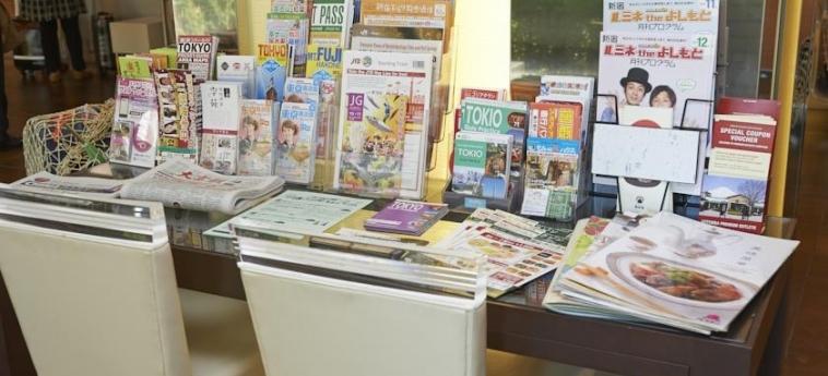Hotel Sunroute Higashi Shinjuku: Activities TOKYO
