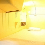 SHINJUKU KUYAKUSHO-MAE CAPSULE HOTEL 1 Stern
