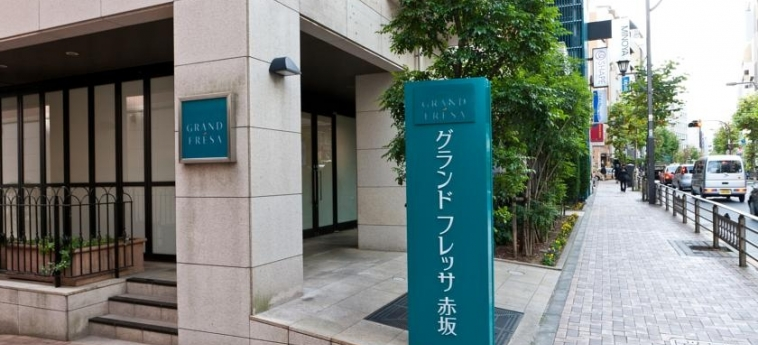 Hotel Grand Fresa Akasaka: Entrada TOKYO