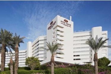 Hotel Crowne Plaza: Außen TOTES MEER-EIN BOKEK