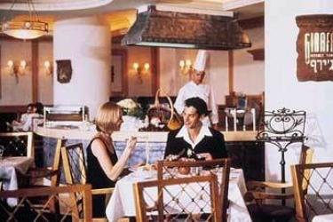 Hotel Crowne Plaza: Restaurant TOTES MEER-EIN BOKEK