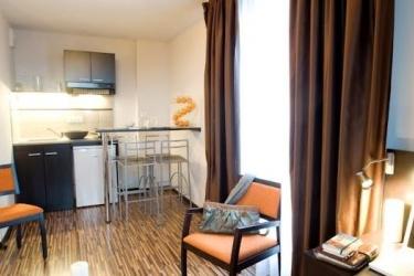 Zenitude Hotel & Residences Le Parc De L'escale: Kitchen TOULOUSE