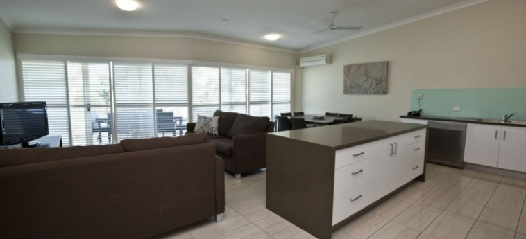Australis Mariners North Holiday Apartments: Dettagli Strutturali TOWNSVILLE - QUEENSLAND