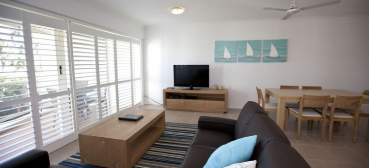 Australis Mariners North Holiday Apartments: Dormitorio 4 Pax TOWNSVILLE - QUEENSLAND