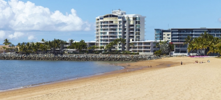 Australis Mariners North Holiday Apartments: Spiaggia TOWNSVILLE - QUEENSLAND