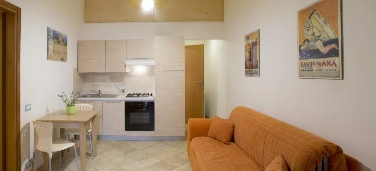 Hotel Il Cortile Fiorito: Küche TRAPANI