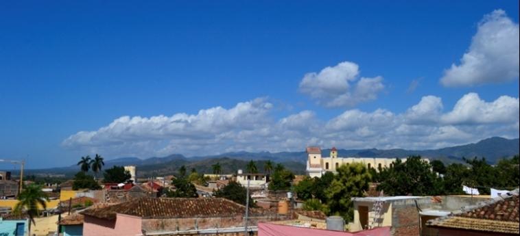 Hotel Hostal Trinidad Maria Guadalupe: Aussicht TRINIDAD