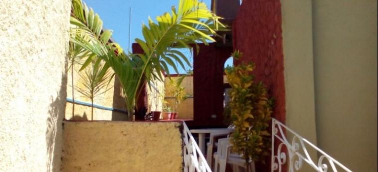 Hotel Hostal Trinidad Maria Guadalupe: Außen TRINIDAD