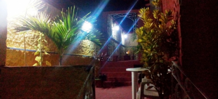 Hotel Hostal Trinidad Maria Guadalupe: Terrace TRINIDAD