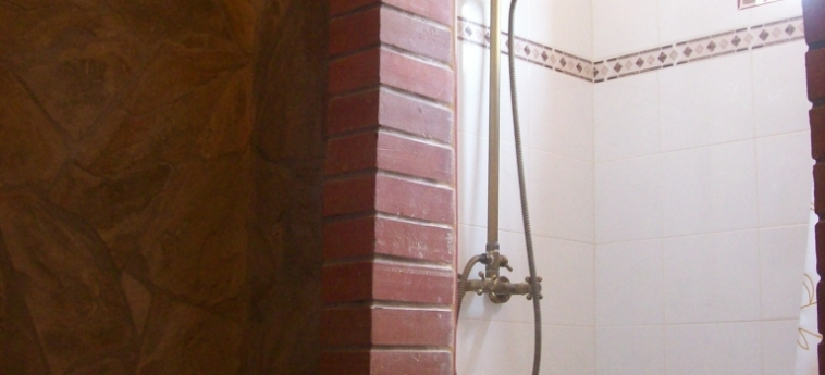 Hotel Hostal Cuba: Salle de Bains TRINIDAD