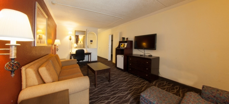 Hotel Tucson City Center: Living Room TUCSON (AZ)