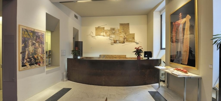 Art Hotel Boston: Reception TURIN