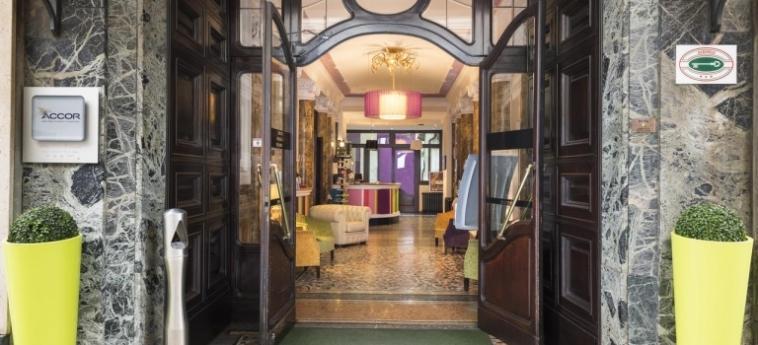 Hotel Astoria : Entrée TURIN