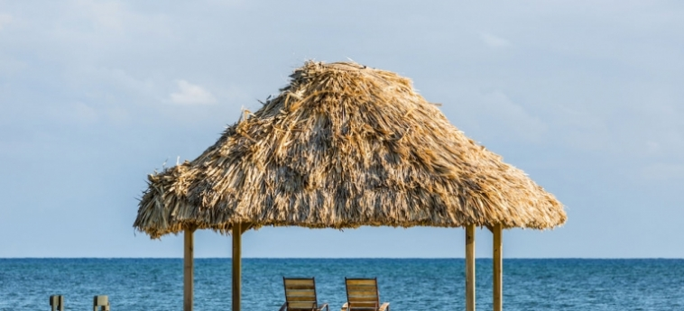 Hotel Turneffe Island Resort: Zona Pranzo TURNEFFE ISLANDS