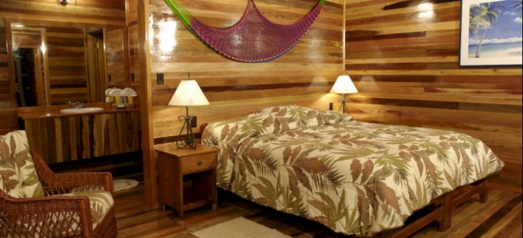 Hotel Turneffe Island Resort: Tennisplatz TURNEFFE ISLANDS
