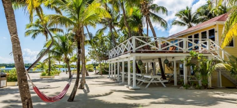 Hotel Turneffe Island Resort: Terrasse TURNEFFE ISLANDS