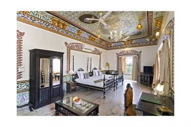 Hotel Chunda Palace: Area para fiesta de cumpleaños UDAIPUR