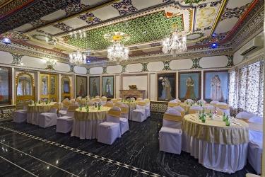 Hotel Chunda Palace: Billar UDAIPUR